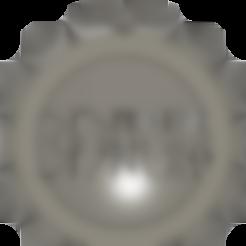 Keyring.stl Télécharger fichier STL gratuit Impression 3D Porte-clés Nerd maker-coin • Design pour impression 3D, JordanHogetoorn
