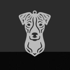 Download 3D model Jack-Russell pendant, JordanHogetoorn