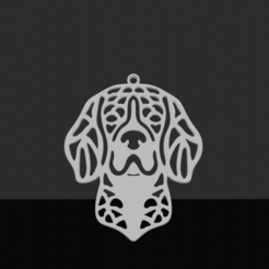 Beagle.png Download STL file Beagle pendant • Template to 3D print, JordanHogetoorn