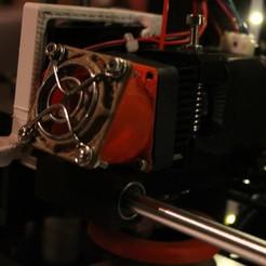 IMG_4440.JPG Télécharger fichier STL gratuit Mise à niveau Anet A6 : Ventilateur 1 conduit 40mm • Plan imprimable en 3D, JordanHogetoorn