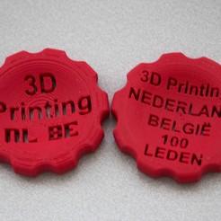 IMG_6704.jpg Download free STL file Makercoin - Officiële 3d printer groep Nederland/België • Template to 3D print, JordanHogetoorn