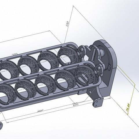 Descargar diseños 3D gratis volteador de huevos (egg turner), jru
