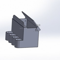 ensamble comedero.JPG Download free STL file feeding trough (feeder) • 3D printer template, jru