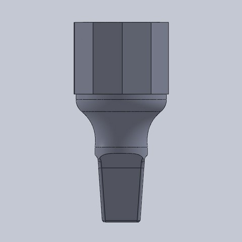 pico jeringa  decoradora 3.JPG Download free STL file syringe beak decorator • Object to 3D print, jru