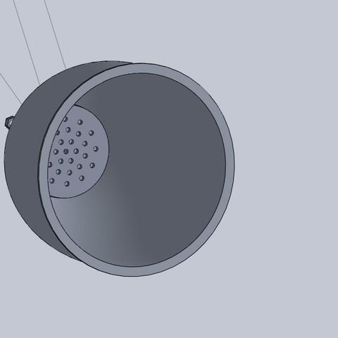 Free 3d printer designs headlight for 4mm led lights, jru