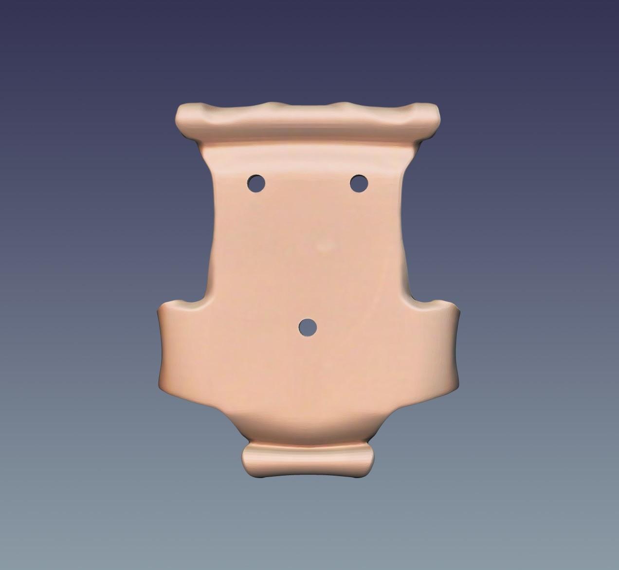 "Hanger_04.jpg Download OBJ file Hanger ""Prayer"" • Model to 3D print, Mendeleyev"