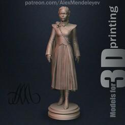 Daenerys_01_2.jpg Download OBJ file Daenerys Targaryen • 3D print model, Mendeleyev