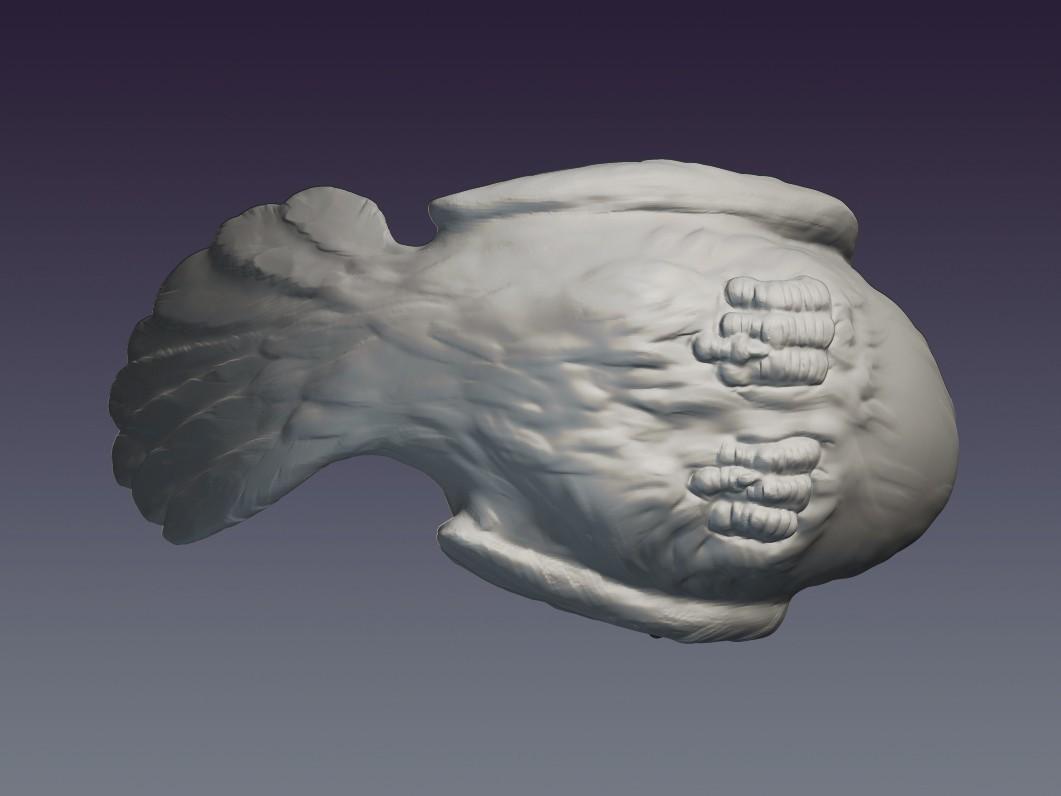 Pigeon_03.jpg Download OBJ file Decorative dove • 3D printing template, Mendeleyev