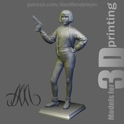 Mathilda_Front.jpg Télécharger fichier OBJ Mathilda (Leon : le professionnel) • Design pour imprimante 3D, Mendeleyev
