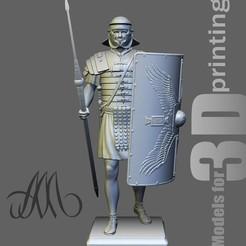 Legio_Face.jpg Download OBJ file Roman Legionary • Object to 3D print, Mendeleyev