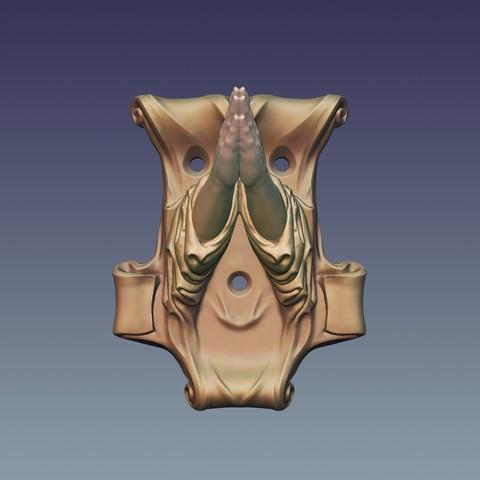 "Hanger_02.jpg Download OBJ file Hanger ""Prayer"" • Model to 3D print, Mendeleyev"