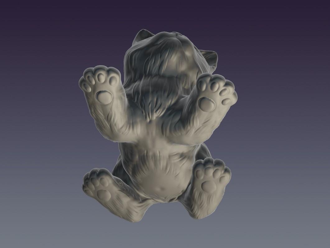 Cat_03.jpg Download OBJ file Decorative cat 3D print model • 3D print object, Mendeleyev