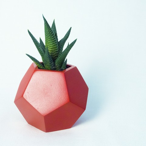 Download STL file Dodecaedro planter  • Model to 3D print, atelierro