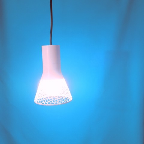 Download 3D printing files Voronoi lampshade for Ikea shade base, atelierro