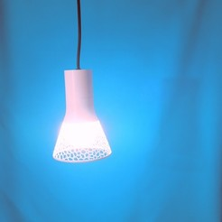 3d printer files Voronoi lampshade for Ikea shade base, atelierro