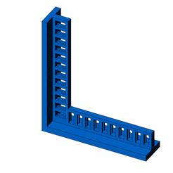 3D printer files square 90°, jjwil