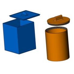 Plan imprimante 3D Boites à tabac, jjwil