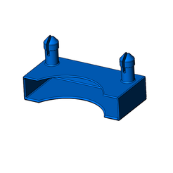 3D print files replacement fixing for bed slats, jjwil