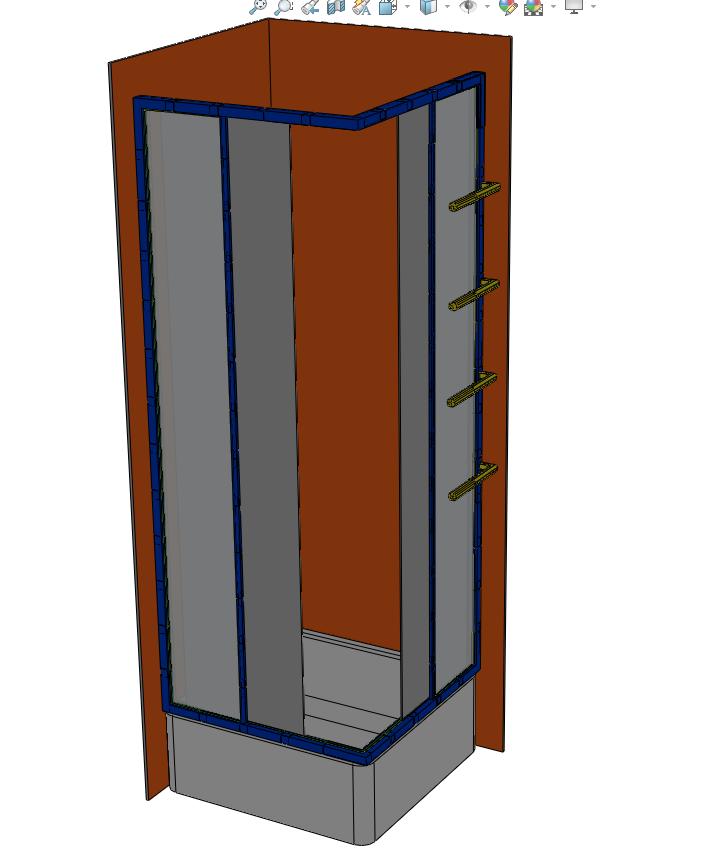 Capture_1.PNG Download STL file Bathroom - Shower • Design to 3D print, jjwil