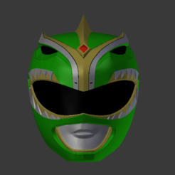 Download 3D print files power rangers mmpr green ranger bat in the sun helmet stl file, nellyscosplayandprops