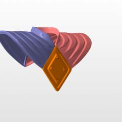 Imprimir en 3D power rangers mmpr green ranger sheild bat in the sun stl file, nellyscosplayandprops