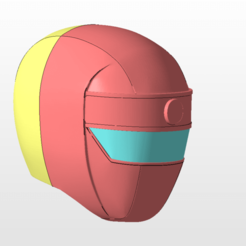 front.png Télécharger fichier STL power rangers rouge alien ranger casque casque stl fichier pour l'impression 3d • Modèle à imprimer en 3D, nellyscosplayandprops