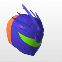 Download 3D printer files power rangers mmpr lord rakkon v3 ranger helmet stl file, nellyscosplayandprops