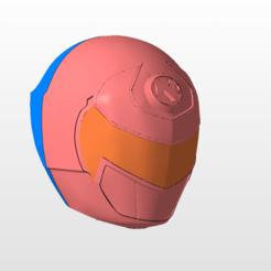 Descargar archivos 3D power rangers mmpr ninjor ninjaman helmet stl file, nellyscosplayandprops