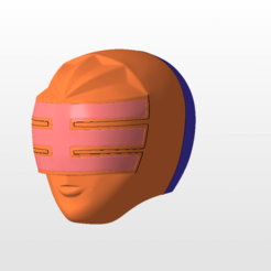 Download STL file power rangers zeo gold ranger helmet stl file for 3d printing, nellyscosplayandprops
