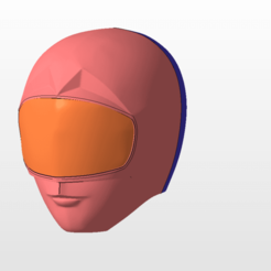 Download STL files power rangers zeo pink ranger helmet stl file for 3d printing, nellyscosplayandprops