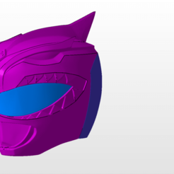 Download STL power rangers mmpr green ranger helmet bat in the sun sentry stl file, nellyscosplayandprops
