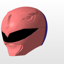 Download 3D printing files power rangers mmpr blue ranger helmet stl file, nellyscosplayandprops