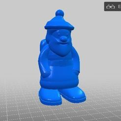 Capture.JPG Download free STL file Santa Claus • Object to 3D print, Shipshape