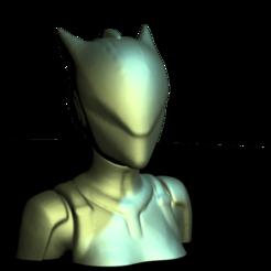 lynx_Fortnite01001.png Télécharger fichier STL Bust lynx Fortnite • Design pour impression 3D, stan42