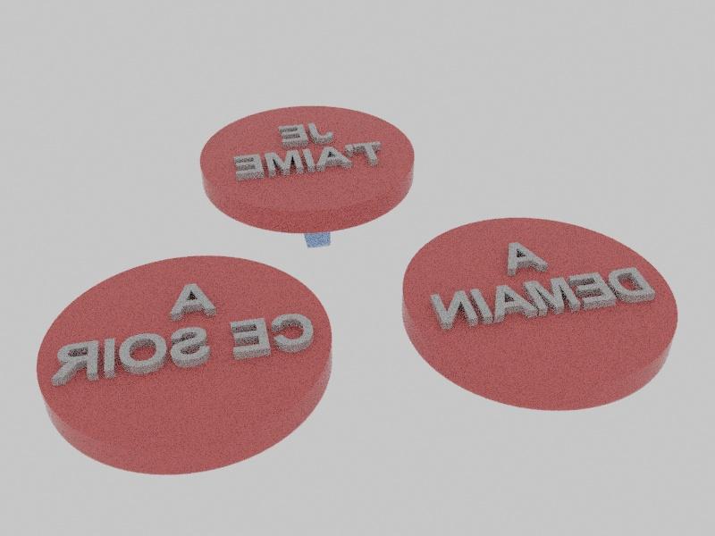 TAMPON01.jpg Download free STL file BUFFER • 3D printing model, stan42