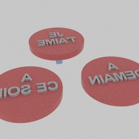 Télécharger fichier impression 3D gratuit TAMPON, stan42