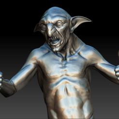 gobelin03.PNG Download STL file goblin • 3D print object, stan42