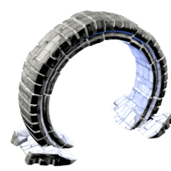 star_gate01.png Download STL file stargate stargate • 3D print template, stan42
