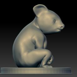 koala02.PNG Download STL file Koala Baby • 3D printing model, stan42