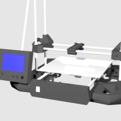 lcd_2.png Download free STL file adaptation of screen support on reinforcement • 3D print design, stan42