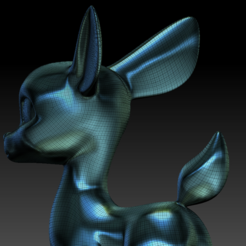 Download 3D printing models deer baby, stan42