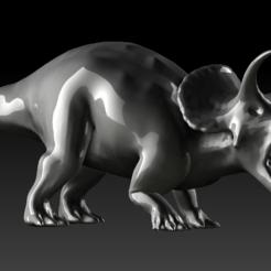 Descargar modelos 3D Triceratops HD, stan42