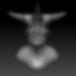 old demon.stl Download STL file old demon • 3D printing model, stan42