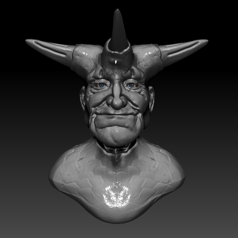 Download free 3D model old demon, stan42