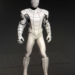 Descargar archivos 3D spiderman, jose5