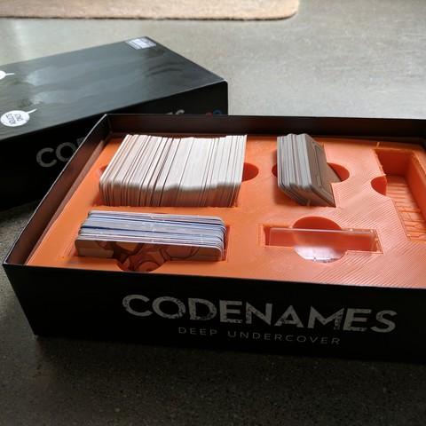 Download free STL file Codenames • 3D printer template, Brettmcgin