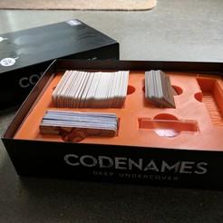 Free 3d printer designs Codenames, Brettmcgin