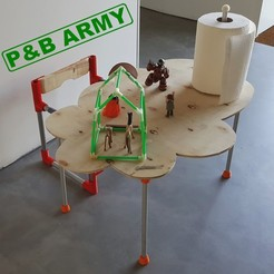 Download free STL file P & B ARMY (PIPE AND BOARD), DJER