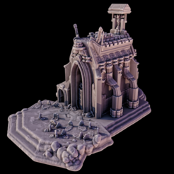 Download free STL files Churchette, iXaarii