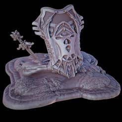 Diseños 3D gratis Escudo de la segunda oportunidad, iXaarii